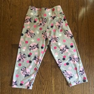 Disney Parks supersoft grey youth crop pants
